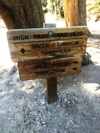 Trailhead sign 2
