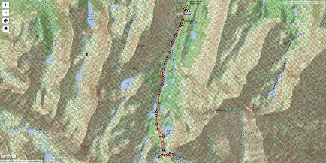 Mammoth Hike